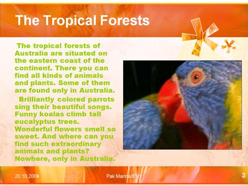 Wild Australia, природа австралии