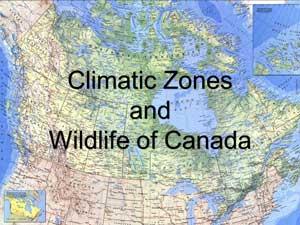 canada, climatic zones of canada