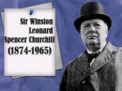 Winston Churchill, Уинстон Черчилль
