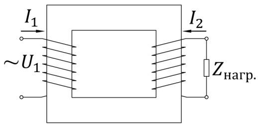 трансформатор, передача электроэнергии, эдс, переменный ток
