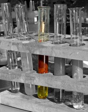 FeCl3,3NaOH,Fe(OH)3,3NaCl, осадок, пробирки, реакции осаждения, свойства электролитов, химия, гидроксид железа